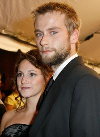 Nicole Berger and Joe Anderson at the world premiere of