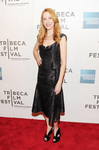 Marsha Dietlein Bennett at the premiere of