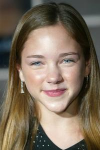 Haley Ramm at the premiere of