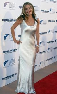 Amanda Brooks at the Hero Awards 2008.