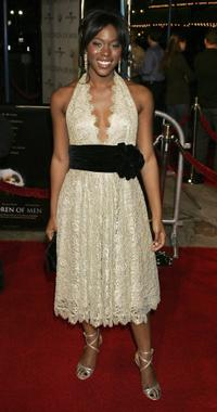 Claire-Hope Ashitey at the Los Angeles premiere of