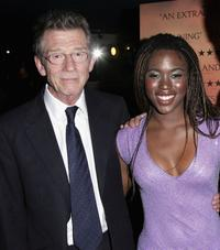 John Hurt and Claire-Hope Ashitey at the UK premiere of