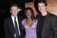 John Hurt, Claire-Hope Ashitey and Hugh Dancy at the UK premiere of
