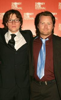 Khan Chittenden and Anthony Hayes at the premiere of