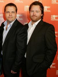 Daniel Craige and Anthony Hayes at the Australian premiere of