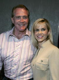 Lee Majors and Faith Majors at the premiere of