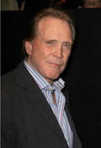 Lee Majors at the Mercedes-Benz Fashion Week.