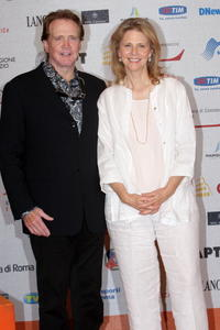 Lee Majors and Lindsay Wagner at the Roma Fiction Fest 2008.