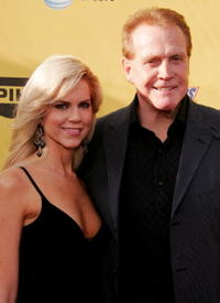 Faith Majors and Lee Majors at the Spike TV's First Annual