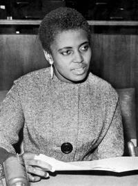 A File Photo of Miriam Makeba, dated February 26, 1965.