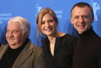 Marian Labuda, Julia Jentsch and Ivan Barnev at the photocall of