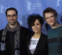 Ermin Bravo, Zrinka Cvitesic and Jasmila Zbanic at the photocall of