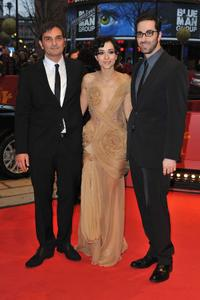 Leon Lucev, Zrinka Cvitesic and Ermin Bravo at the premiere of