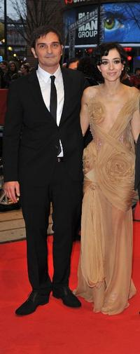Leon Lucev and Zrinka Cvitesic at the premiere of