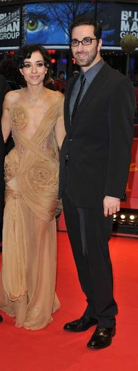 Zrinka Cvitesic and Ermin Bravo at the premiere of