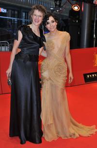 Jasmila Zbanic and Zrinka Cvitesic at the premiere of