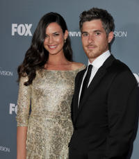Odette Annable and Dave Annable at the Fox's