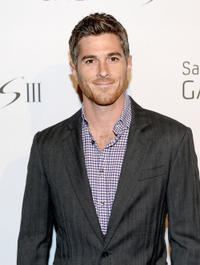 Dave Annable at the Samsung Galaxy S III Launch in California.