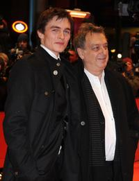 Rupert Friend and Director Stephen Frear at the premiere of