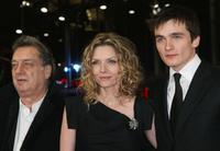 Director Stephen Frears, Michelle Pfeiffer and Rupert Friend at the premiere of