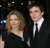 Michelle Pfeiffer and Rupert Friend at the premiere of
