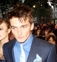 Rupert Friend at the world premiere of