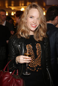 Tamzin Merchant at the 24 Hour Musicals gala performance in England.