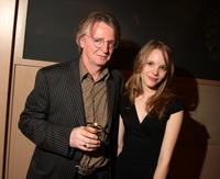 Michael Hirst and Tamzin Merchant at the official launch party for the third season of