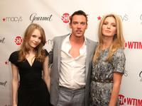 Tamzin Merchant, Jonathan Rhys Meyers and Annabelle Wallis at the official launch party for the third season of