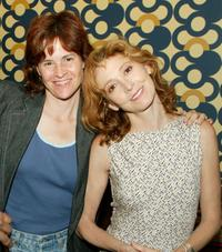 Alley Sheedy and Wendy Makkena at the wrap party of