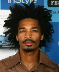 Eddie Steeples at the premiere of