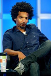 Eddie Steeples at the panel discussion of
