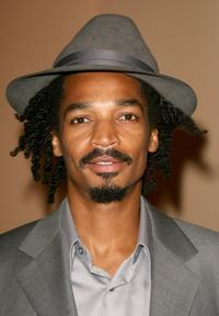 Eddie Steeples at the cocktail reception of 2006 Summer TCA Awards.