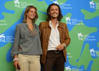 Xavier Lafitte and girlfriend Carolie at the photocall of