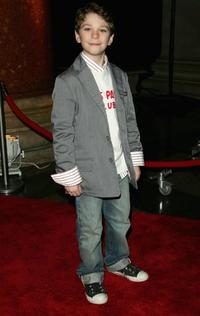 Jake Cherry at the premiere of