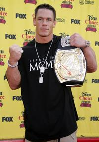John Cena at the 2005 Teen Choice Awards.
