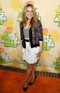Lauren Collins at the Nickelodeon's 2009 Kids Choice Awards.