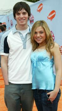 Jake Epstein and Lauren Collins at the Nickelodeon's 17th Annual Kids' Choice Awards.