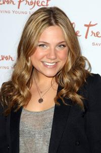 Lauren Collins at the 8th Annual The Trevor Project Benefit Gala.