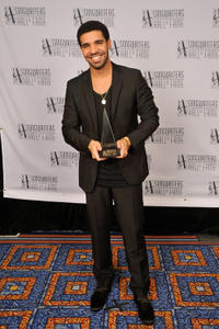 Aubrey Graham at the Songwriters Hall of Fame 42nd Annual Induction and Awards in New York.