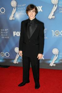 Vincent Martella at the 40th NAACP Image Awards.