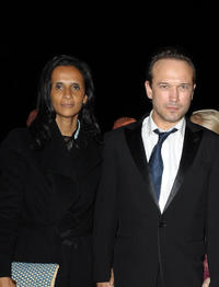 Carine Silla and Laurent Malet at the Dior party during the 10th Marrakech Film Festival in Morocco.