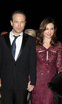 Laurent Malet and Elsa Zylberstein at the Dior party during the 10th Marrakech Film Festival in Morocco.