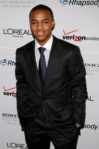 Lil' Bow Wow at the Clive Davis pre-Grammy party.