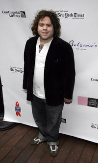 Dan Fogler at the 19th Annual Broadway Flea Market and Grand Auction For Broadway Cares on the patio of Bolzanos Bar Cucina.
