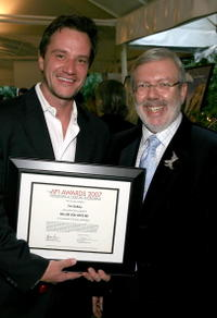 Leonard Maltin and Tim DeKay at the 8th Annual AFI Awards.