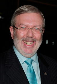 Leonard Maltin at the 2007 LA Film Critic's Choice Awards.