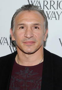 Ray Mancini at the California premiere of