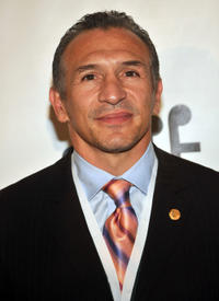 Ray Mancini at the 23rd Annual Great Sports Legends Dinner in New York.