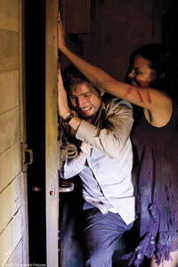 Michael Stahl-David and Jessica Lucas in